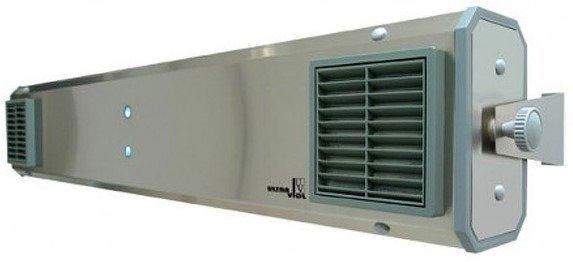 Lampa bactericida NBVE 60N cu flux de radiatii UV, 2x30W, montare pe perete sau tavan
