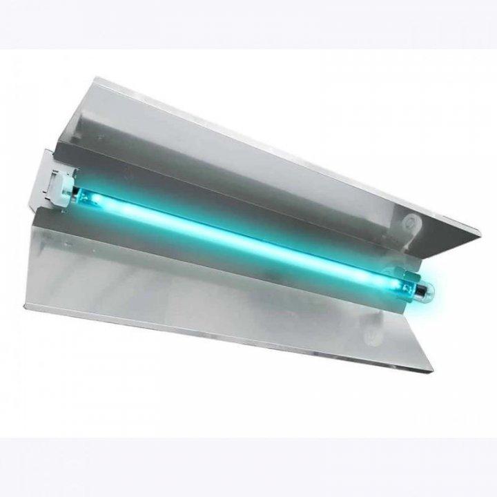 Lampa bactericida UVC, orientabila, 55W, cu reflector, IP20, montare perete